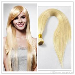$enCountryForm.capitalKeyWord Australia - Good Deal 300g 613 Blonde Straight Brasil Extension in Bulk no weft Cheap Deep Wave Brazilian Human Hair Bulk For Braids, free Shipping