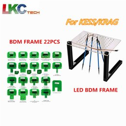 $enCountryForm.capitalKeyWord Australia - LED BDM Frame Programmer Full Set For KESS KTAG Fgtech Galletto BDM100 ECU Chip Tuning Tool with 4 Probe Pens shipping free
