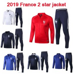 $enCountryForm.capitalKeyWord Australia - Thai quality 2019 POGBA MBAPPE 2 stars Soccer Jacket GRIEZMANN Football Training Suit 18 19 football TrackSuit survetement Shirts Jacket
