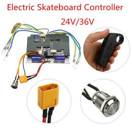 Esc motor controllEr online shopping - 24V V Electric Skateboard Controller Longboard Remote Control Dual Motors ESC Parts Scooters Skate Board Accessories