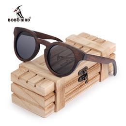 7afd9206ba29d BOBO BIRD Ebony Wooden Male Lady Sunglasses Men s Luxury Brand Designer  Polarized Sun Glasses Vintage sunglass women eyewear
