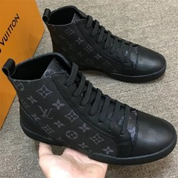 China 2019 Luxury Desinger Men Casual Shoes Oxford Dress Shoes for Men Platform Desinger Shoes Leather Lace Up Wedding Daily Sneaker 38-45 a01 suppliers