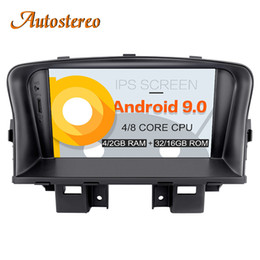 Опт Android 9 Автомобильный GPS-навигатор авто DVD CD плеер для Chevrolet CRUZE 2008-2012 Магнитола для магнитолы IPS