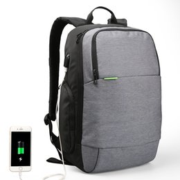 43b9beffc1 Kingsons Brand External USB Charge Laptop Backpack Anti-theft Notebook  Computer Bag 15.6 inch for Business Men Women