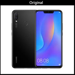 Bar Glasses India Australia - Wholesale Huawei nova 3i nova3i Mobile Phone 4G 6G Ram 64G 128G ROM 6.3 inch Kirin710 Octa Core Android 8.1 Glass Phone Body Smartphone