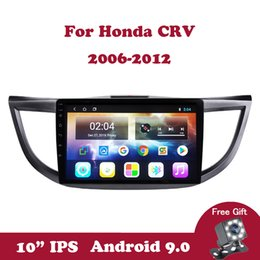 honda crv gps dvd Australia - Android 9.0 Car Radio for Honda CRV 2012-2015 CR-V 2.5D IPS Multimedia Player 4 Core GPS Navigation Auto Wifi DVD 2 Din