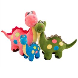 dinosaurs soft toys NZ - Fashion Cute Styling Simulation Dinosaur Doll Soft Lovely Nice Standing Dinosaur Plush Christmas Birthday Gift Toy