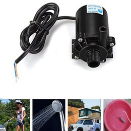 12v Showers Australia - 2V Submersible Water Pumps for Washer Tools Portable Camping Caravan Hiking Travel Pet Shower Pump Electric Car Plug Outdoor 12V Submersi...