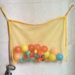 $enCountryForm.capitalKeyWord NZ - Baby Bath Toy Organizer Holder Toddler Bathtub Mesh Net Newborn Bath Bag Pouch Kids Storage Bin with Suction Hooks
