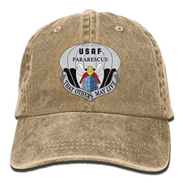 $enCountryForm.capitalKeyWord UK - 2019 New Wholesale Baseball Caps United States Air Force Pararescue Emblem Trend Printing Cowboy Hat Fashion Baseball Cap