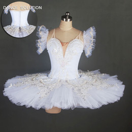 Wholesale professional classical ballet tutu for sale - Group buy 10 Layers Stiff Tulle Professional Ballerina Costume Swan White Classical Ballet Dance Tutu Dress for Girls and Women B18099