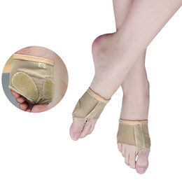 Thong hole online shopping - Professional Two Holes Ballet Dance Foot Thong Toe Pad Forefoot Half Lyrical Foot Protection