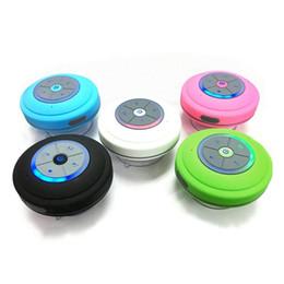 $enCountryForm.capitalKeyWord Australia - Waterproof Wireless Bluetooth Speaker Mini Bathroom Wireless Shower Speaker Handsfree Protable Speakerphone with TF card slot, FM LED light