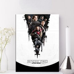 $enCountryForm.capitalKeyWord Australia - Star Rogue One Wars Wall Art Canvas Posters Prints Painting Wall Pictures For Bedroom Home Decor Framework HD