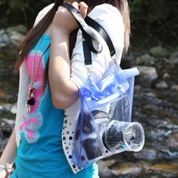 Dslr Cameras Bags Australia - Universal Waterproof Camera Case DSLR SLR Camera Underwater Storage Dry Bag Transparent PVC Pouch #705680