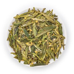 $enCountryForm.capitalKeyWord UK - Chinese Organic Green Tea Xihu Long Jing with Osmanthus Chinese West Lake Dragon Well Longjing Osmanthus Flavor