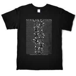 Wholesale nurse shirts for sale – custom Nurse Joy Division T Shirt Men Funny Cotton T Shirt O Neck Short Sleeve Street Tees Shirt XS XL Casual Printed Tops
