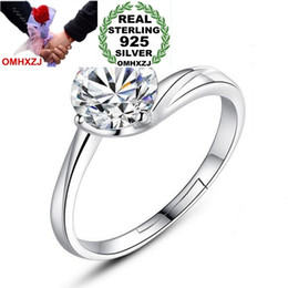 $enCountryForm.capitalKeyWord Australia - OMHXZJ Wholesale Simple Flower Fashion Intertwined Love Gift 925 Sterling Silver Female For Woman Girl Resizable Ring RG41