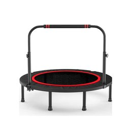 beds jump NZ - Folded Trampoline home children's indoor bouncing bed outdoor rubbing bed gym adult men women weight loss jumping 40-48 inch