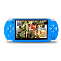 Wifi Game Player Australia - 4.3 Inch Big Screen Portable PMP Game Player Real 4GB 8GB Build in Games Video Handheld Game Console for Kids Retro Game Player