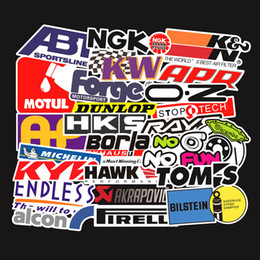 $enCountryForm.capitalKeyWord Australia - 103 PCS Set Car Stickers Car Accessories Graffiti Motorcycle Bike Skateboard Laptop Stickers JDM Sticker for Car Styling TH044