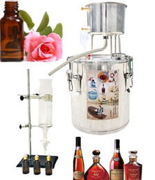 Oil Equipment Australia - Essential Oil Extractor 220V Hydrolat Distiller Brewing Wine Equipment for Home Fermentation Brandy DIY Tool
