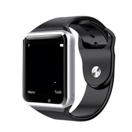 $enCountryForm.capitalKeyWord NZ - 2018 A1 smartwatch Smart Watches Bluetooth Wearable Men Women Smart Watch Mobile with Camera for Android Smartphone Smartwatch Camera dhl