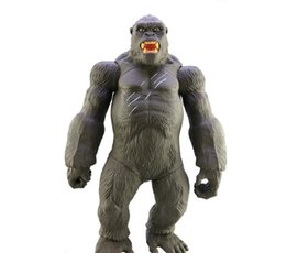 $enCountryForm.capitalKeyWord UK - [TOP] Large size 45CM Movie King Kong Skull Island Action Figure Toy Gorilla Collection Model Desk decorations kids gift toys
