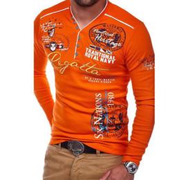 $enCountryForm.capitalKeyWord Australia - Luxury Mens Polos With Letters Fashion Designer Polo shirts For Mens Brand Tee Shirts Long Sleeve Mens Tops Clothing 4 Colors S-3XL