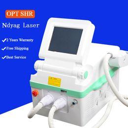Ipl laser treatment for haIr removal online shopping - professional ipl machine SHR IPL Machine laser treatment for hair removal nd yag q switch laser dark skin pigmentation