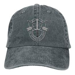 $enCountryForm.capitalKeyWord Australia - 2019 New Wholesale Baseball Caps US Special Forces Insignia Mens Cotton Adjustable Washed Twill Baseball Cap Hat