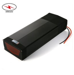 port mount Australia - Lithium Ion Electric Bike Battery 48V 30Ah Electric Bicycle Li Battery Packs with Mounted Track Rear Rack + 5V USB Port