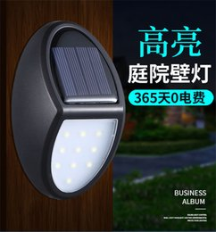 $enCountryForm.capitalKeyWord NZ - New 10 Hight Bright LED Solar PIR Motion Sensor Wall Light Outdoor Waterproof Energy Saving Street Yard Path Home Garden Security Lamp H4554