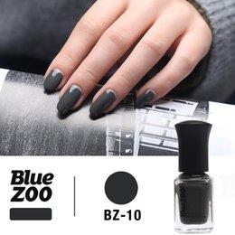 $enCountryForm.capitalKeyWord Australia - Yfashion 12ml Nail Polish Women Girls Elegant Grey Nail Polish Art Tool Safe&Non-toxic, Not Easy to Fall off