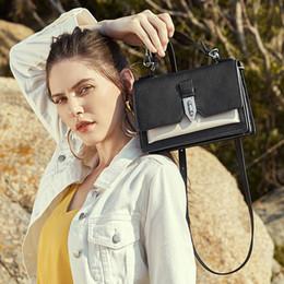 $enCountryForm.capitalKeyWord Australia - Belle2019 Color Hit Bag Genuine Leather Woman Portable Concise Single Shoulder Package Neap All-match Cable Satchel