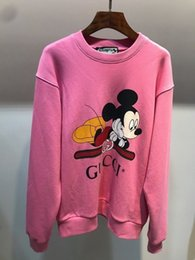 Wholesale spandex sweaters resale online - print women sweashirt sweaters casual hoodies women tops eq879