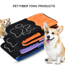 $enCountryForm.capitalKeyWord NZ - PAWZRoad Dog Cat Cleaning Necessary Pet Drying Towel Ultra-absorbent Dog Bath Towel Made By Microfiber High Quality Pet Product D19011506