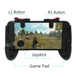 Gamepad for iphone online shopping - Pubg Game Gamepad For Mobile Phone Game Controller l1r1 Shooter Trigger Fire Button For IPhone For Knives Out