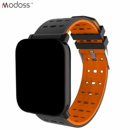 Bluetooth Smart Watch Sim Australia - 2019 A6 Fashion Bluetooth IP67 Waterproof Smart Wrist Watch For Android Phones With Support SIM Card Slot Camera Music with Package