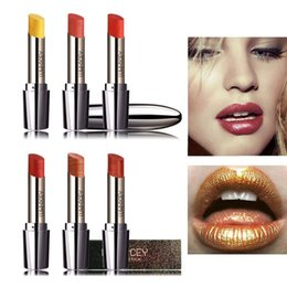 $enCountryForm.capitalKeyWord NZ - Matte Lipstick for Women Sexy Brand Lips Color Cosmetics Waterproof Lipstick Long Lasting Red Pink Yellow Lip stick Nude Makeup