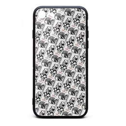 Rabbit Silicone Phone Cases UK - IPhone 8 Case iPhone 7 Case Deftones rabbit skull white classic anti-scratch TPU Soft Rubber Silicone Cover Phone Case