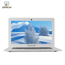 Computers Hdd Australia - ZEUSLAP 14inch 4G RAM+500GB HDD Intel Pentium Quad Core Windows 10 System 1920X1080P FHD Ultrathin Notebook Computer Laptop