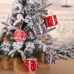 $enCountryForm.capitalKeyWord Australia - Christmas Tree Hanging Ornaments Pendant Party Hanging Gifts box Ornaments Christmas Decorations For Home Supplies