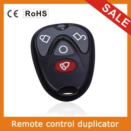 Rf Remote Control Duplicator Australia - Remote Control Copy 4 Channel Cloning Duplicator Key Fob A Distance Learning Electric Garage Door Controller 433 MHz RF