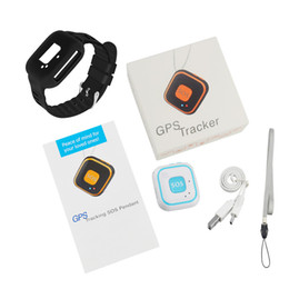child personal gps locator Australia - Kids GPS TrackerRF-V28 Child Mini GPS Locator Personal Real Time Tracking WIFI LBS AGPS Tracking Two Way Calls Fall Alarm
