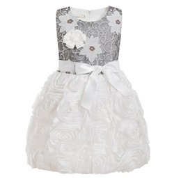 $enCountryForm.capitalKeyWord UK - White 2019 Flower Girl Dresses For Weddings party ceremony Gown Tulle Lace First Communion Dresses For Little Girls 2-11 Y