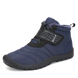 $enCountryForm.capitalKeyWord NZ - Christmas Winter Boots Man Hiking Shoes Outdoor Sneakers Waterproof Snow Shoes Men Spring Warm Trainers Anti Skid Ankle Boots #4601