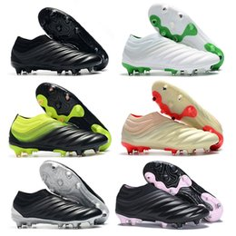 $enCountryForm.capitalKeyWord NZ - New Copa Shoes 2019 High Quality Mens Soccer Cleats Copa 19 FG Soccer Shoes Leather Football Boots Outdoor Socks Football Cleats