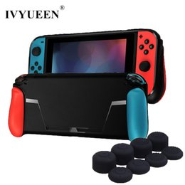 $enCountryForm.capitalKeyWord Australia - Ivyueen Soft Protective Case For Nintend Switch Ns Nx Console Tpu Shell Handle Grip With Game Card Slot Anti-shock Cover Caps T190624