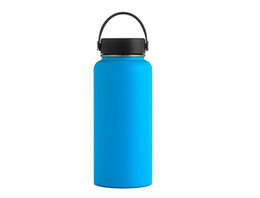 $enCountryForm.capitalKeyWord Australia - 32oz Vacuum water bottle Insulated 304 Stainless Steel Water Bottle Wide Mouth big capacity water bottles with Leak Proof Flex Cap